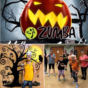 Halloween Zumba class