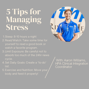 Healthplex University virtual lesson - Managing Stress
